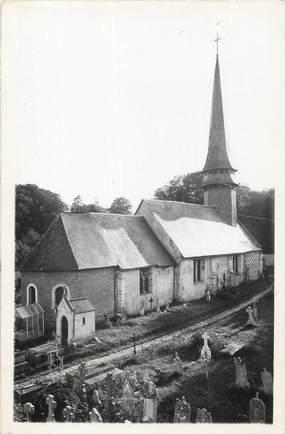 """CPSM FRANCE 27 """"Giverville, L'église""""."""