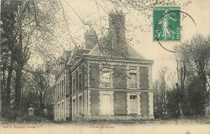 "CPA FRANCE 27 ""Guitry, Le château""."