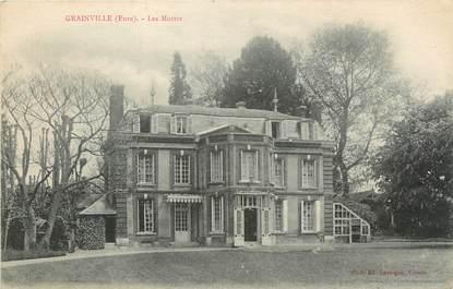 """CPA FRANCE 27 """"Grainville, Les Muttes""""."""