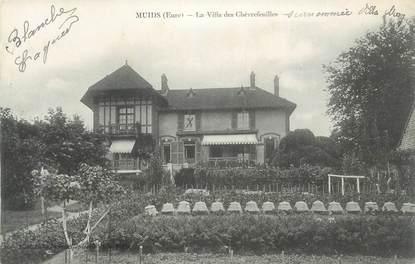 """CPA FRANCE 27 """"Muids, La villa des Chêvrefeuille""""."""