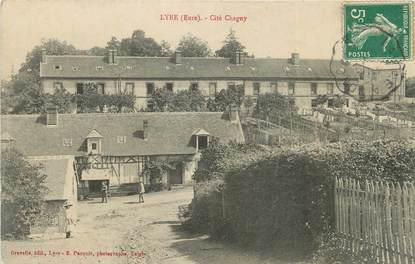 "CPA FRANCE 27 ""Lyre, Cité Chagny""."