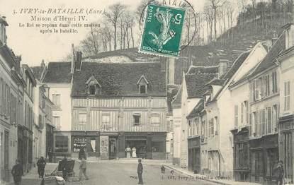 """CPA FRANCE 27 """"Ivry la Bataille, Maison d'Henri IV""""."""