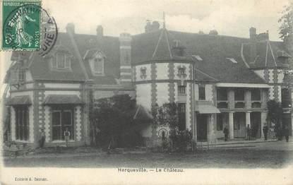 """CPA FRANCE 27 """"Herqueville, Le château""""."""