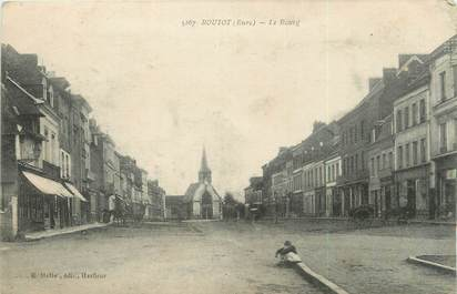 """CPA FRANCE 27 """"Routot, Le bourg""""."""