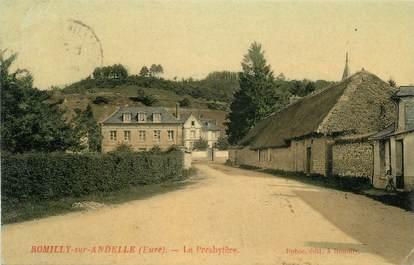 "CPA FRANCE 27 ""Romilly sur Andelle, Le presbytère""."