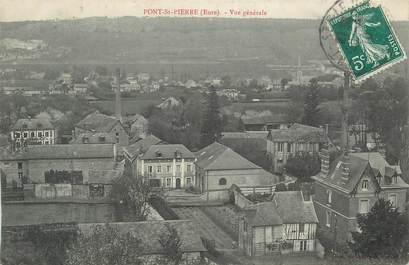 """CPA FRANCE 27 """"Pont St Pierre, Vue générale""""."""
