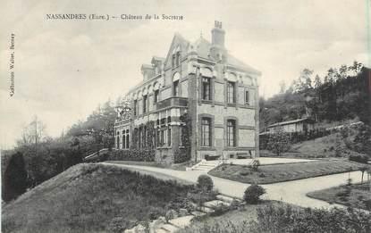 """CPA FRANCE 27 """"Nassandres, Château de la Sucrerie""""."""