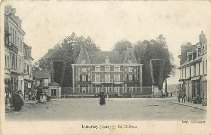 "CPA FRANCE 27 ""Lieurey, Le château""."