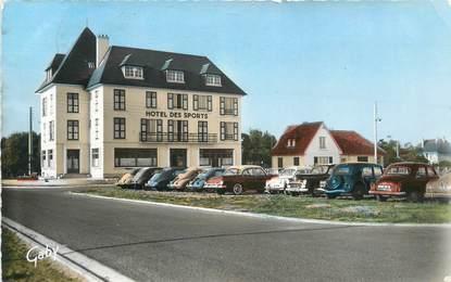 """CPSM FRANCE 14 """" Franceville Plage, Hôtel des sports""""."""