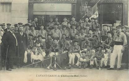 """CPA FRANCE 94 """"Choisy le Roi, l'Avant Garde"""" / FANFARE"""