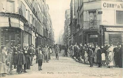 """CPA FRANCE 75020 """"Paris, rue des Cendriers"""""""