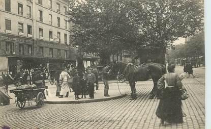 """CPA FRANCE 75019 """"Paris, Le bld de la Villette"""""""