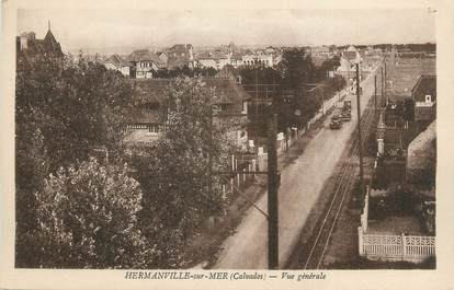 """CPA FRANCE 14 """"Hermanville sur Mer, Vue générale""""."""