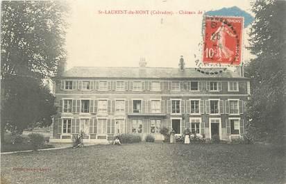 """CPA FRANCE 14 """"St Laurent du Mont Château""""."""
