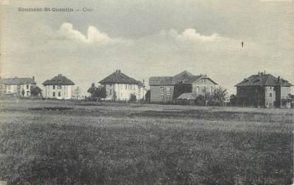 """CPA FRANCE 14 """"Soumon St Quentin, Cités""""."""
