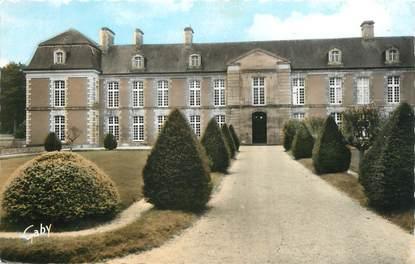 """CPSM FRANCE 14 """"St Pierre sur Dives, Château Robillard""""."""
