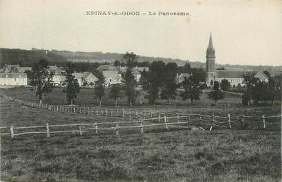 """CPA FRANCE 14 """"Epinay sur Odon, Le panorama""""."""