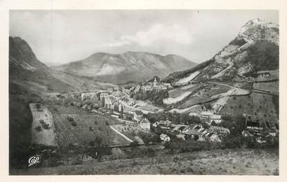 """CPSM FRANCE 39 """" Salins les Bains, La ville et les forts""""."""