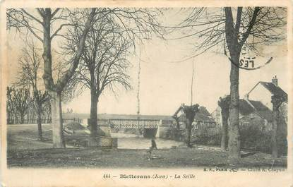 """CPA FRANCE 39 """" Bletterans, La Seille""""."""