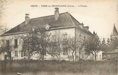 """CPA FRANCE 39 """" Vers en Montagne, L'oasis""""."""