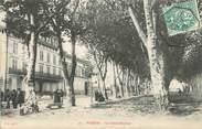 """38 Isere CPA FRANCE 38 """"Voiron, Le Cours Sénozan""""."""