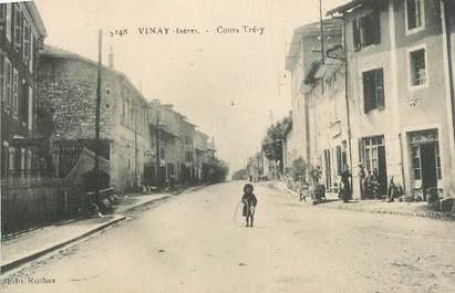 """CPA FRANCE 38 """"Vinay, Cours Tréry""""."""