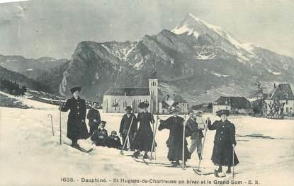 "CPA FRANCE 38 ""St Hugues de Chartreuse, Le Grand Som""."