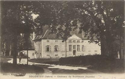 """CPA FRANCE 38 """"Dolomieu, Château de Buffières""""."""