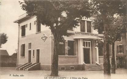 """CPA FRANCE 38 """" Le Grand Lemps, L'Hôtel des Postes""""."""