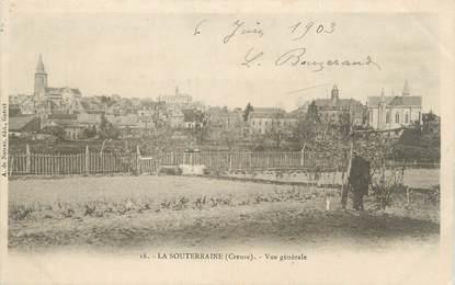 """CPA FRANCE 23 """" La Souterraine, Vue générale""""."""