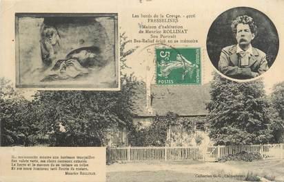 """CPA FRANCE 23 """" Fresselines, Maison de Maurice Rollinat""""."""