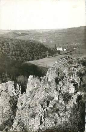 """CPSM FRANCE 23 """" Evaux les Bains, La Vallée du Chacros""""."""