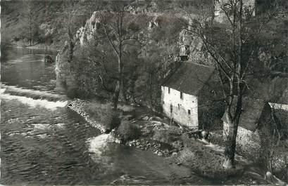 """CPSM FRANCE 23 """" Evaux les Bains, Les rives de la Tarde""""."""