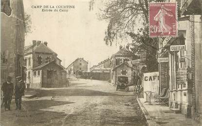 "CPA FRANCE 23 "" 'La Courtine, Entrée du camp""."