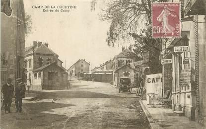 """CPA FRANCE 23 """" 'La Courtine, Entrée du camp""""."""
