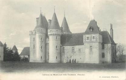 """CPA FRANCE 23 """" Près de Chambon, Le château de Monflour"""""""