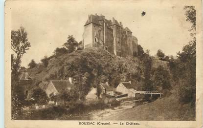 """CPA FRANCE 23 """" Boussac, Le château"""". / POLITIQUE"""