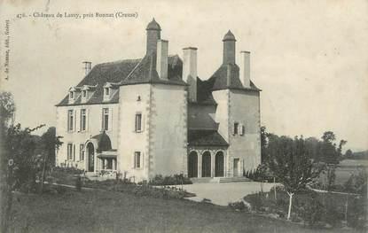"""CPA FRANCE 23 """" Près de Bonnat, Le château de Lasvy""""."""
