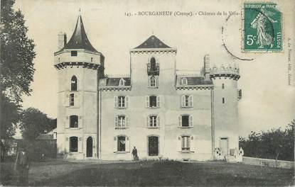 """CPA FRANCE 23 """" Bourganeuf, Château de la Voie""""."""