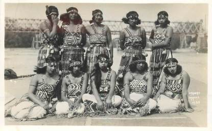 "CPA NOUVELLE ZELANDE ""Femmes Maori"""