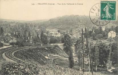 "CPA FRANCE 23 "" Felletin, Vue de la Vallée de la Creuse""."