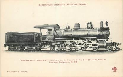 """CPA NOUVELLE ZELANDE """"locomotive coloniale"""""""