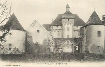 """CPA FRANCE 23 """" Près Guéret, Le château du Terret""""."""
