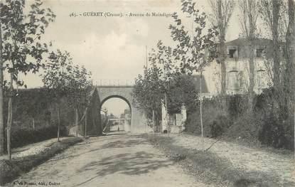 """CPA FRANCE 23 """" Guéret, Avenue de Maindigoui""""."""