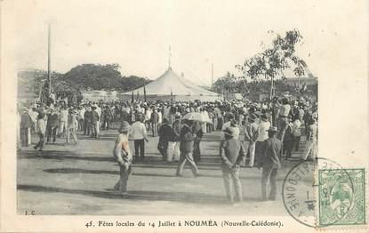 """CPA NOUVELLE CALEDONIE """"Nouméa, fêtes locales du 14 juillet"""""""