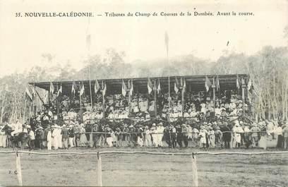 """CPA NOUVELLE CALEDONIE """"Tribunes du Champ de Courses de la Dumbéa"""""""
