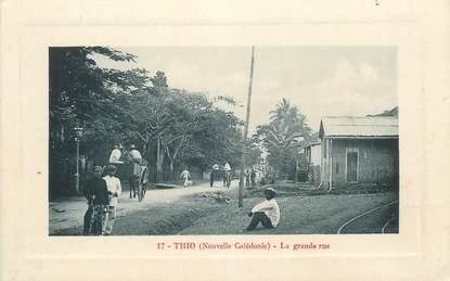 "CPA NOUVELLE CALEDONIE ""Thio, la grande rue"""