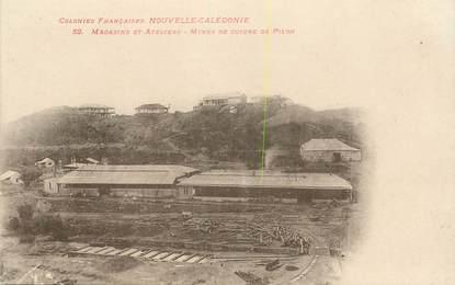 """CPA NOUVELLE CALEDONIE """"Mines de cuivre de Pilou"""""""