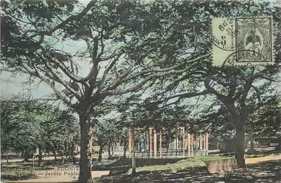 """CPA NOUVELLE CALEDONIE """"Nouméa, le jardin Public"""""""