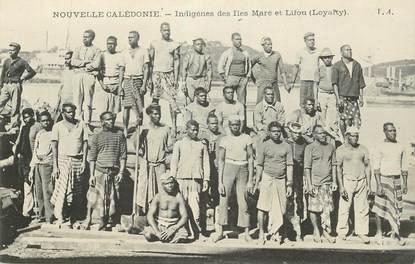 """CPA NOUVELLE CALEDONIE """"Indigènes des Iles Maré et Lifou"""""""